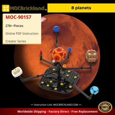 8 planets Creator MOC-90157 WITH 278 PIECES
