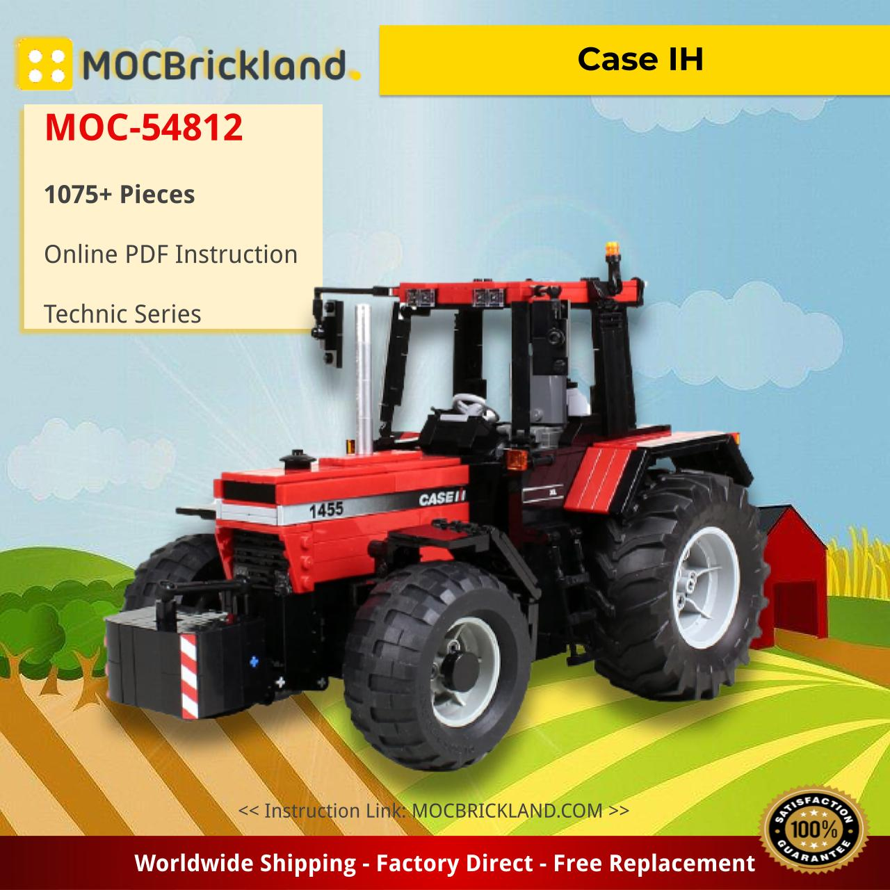 Case IH Technic MOC-54812 by M_longer WITH 1075 PIECES
