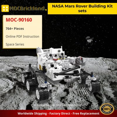 NASA Mars Rover Building Kit sets Space MOC-90160 with 764 pieces