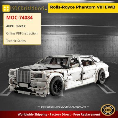 Rolls-Royce Phantom VIII EWB Technic MOC-74084 by OleJka with 4019 pieces