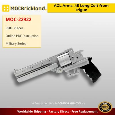 AGL Arms .45 Long Colt from Trigun Military MOC-22922 by Lioncity Mocs with 350 pieces