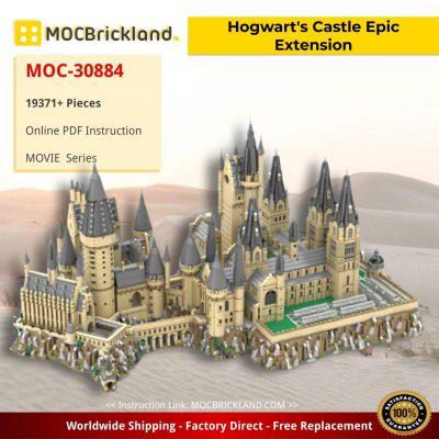 Hogwart's Castle (71043) Epic Extension MOC-30884 With 19371 PIECES