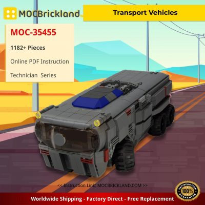 Remote Controlled MOC Transport Vehicles Star Wars MOC-35455 by ohsojang WITH 1182 PIECES