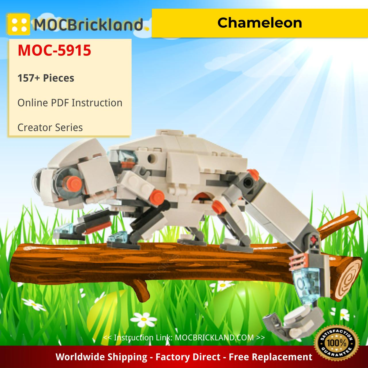 Chameleon Creator MOC-5915 by dvdliu WITH 157 PIECES