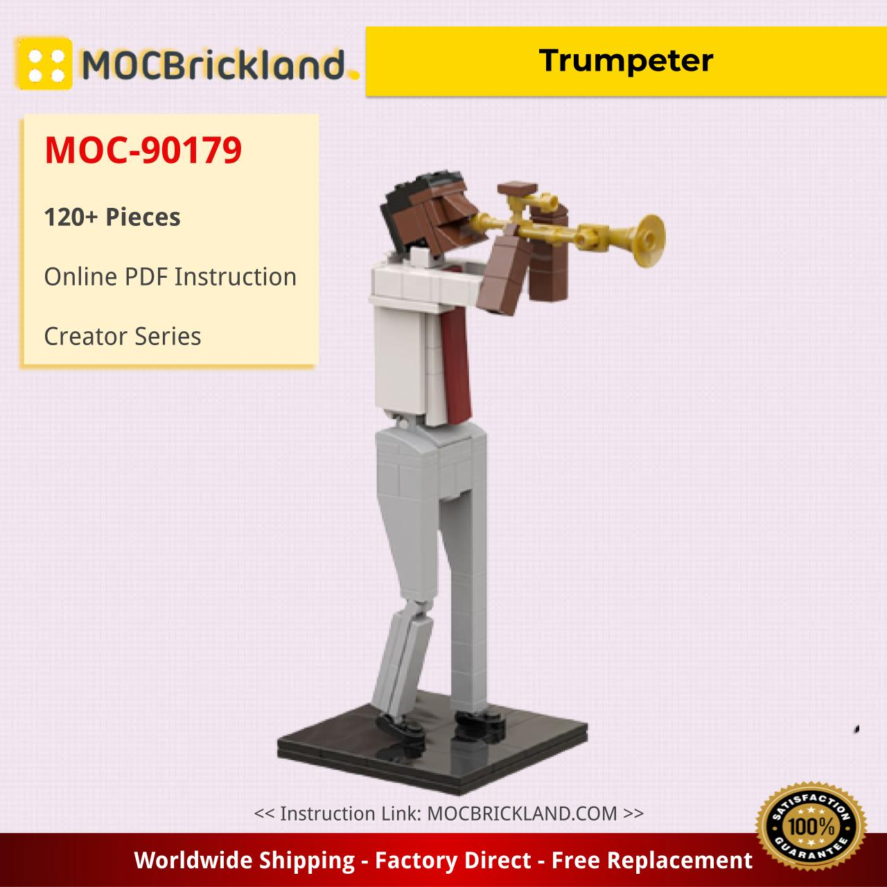 Trumpeter Creator MOC-90179 WITH 120 PIECES