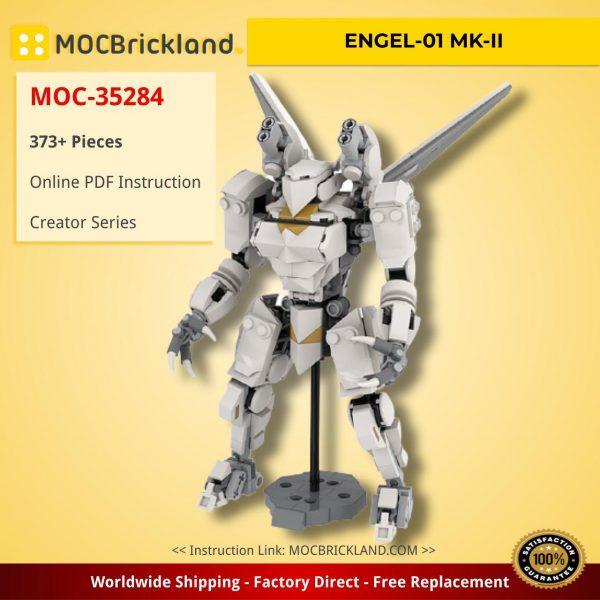 ENGEL-01 MK-II Creator MOC-35284 by EricNowack WITH 373 PIECES