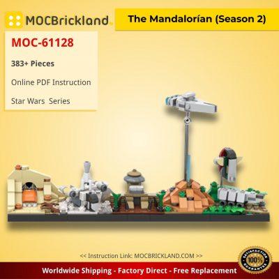 The Mandalorían (Season 2) Star Wars MOC-61128 by benbuildslego WITH 383 PIECES