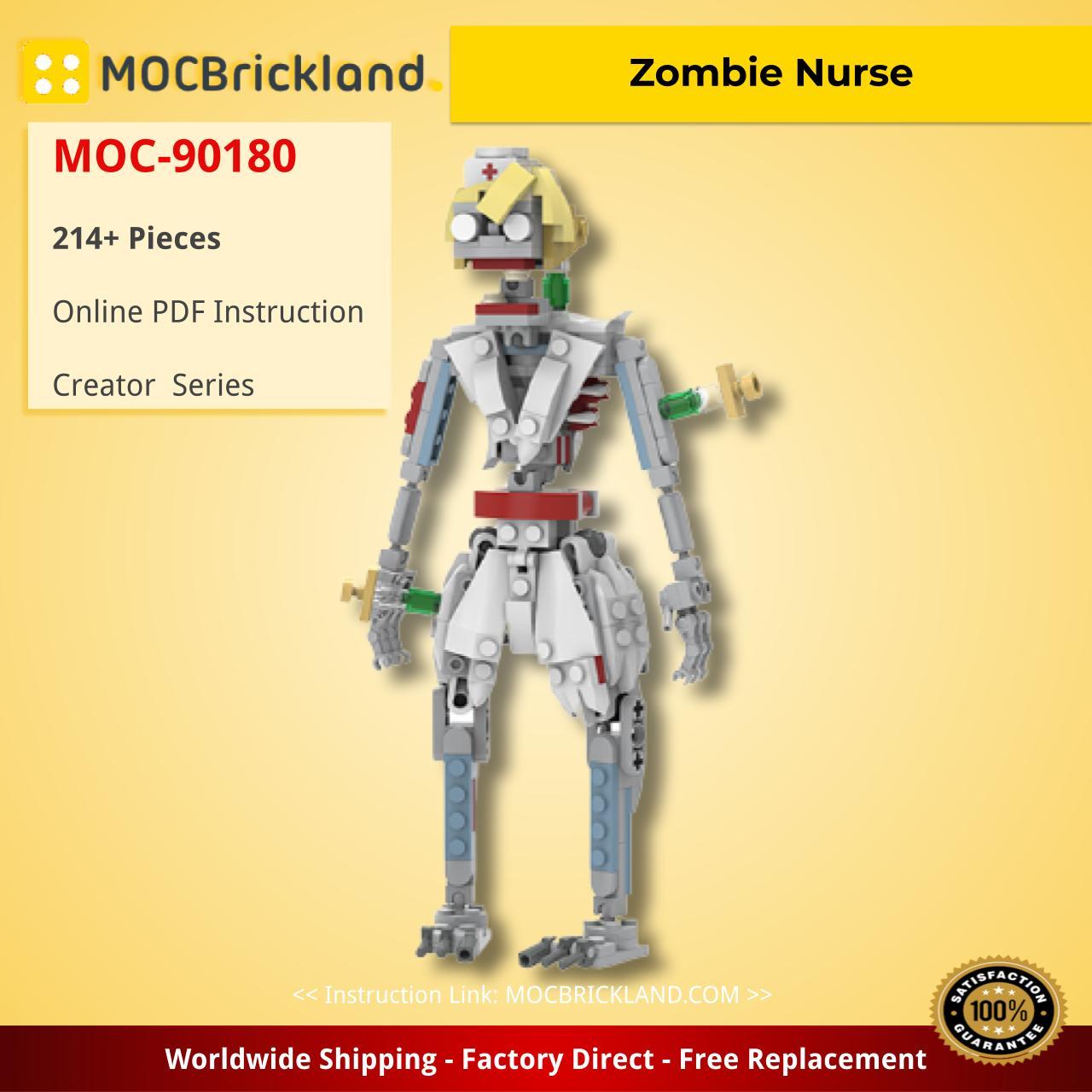 Zombie Nurse Creator MOC-90180 WITH 214 PIECES