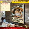 Luffy Wanted Order Pixel Art Movie MOC-90175 WITH 5642 PIECES