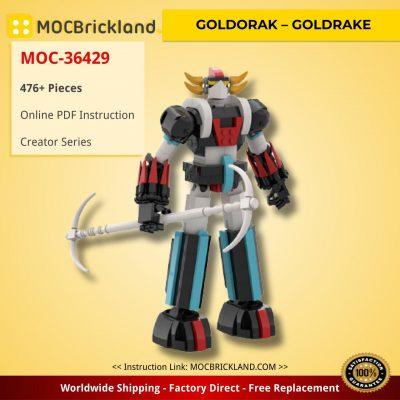 GOLDORAK – GOLDRAKE Creator MOC-36429 by FredL45 WITH 476 PIECES