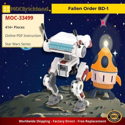 Fallen Order BD-1 Star Wars MOC-33499 by BrickBoyz Custom Designs WITH 414 PIECES