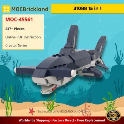 31088 15 in 1 Creator MOC-45561 by bricksmartworkshop WITH 237 PIECES