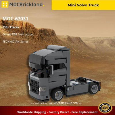 Mini Volvo Truck TECHNICIAN MOC-67031 with 310 pieces