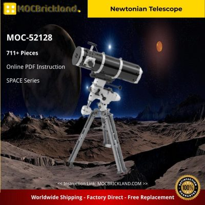 Newtonian Telescope SPACE MOC-52128 by Guiguizmo WITH 711 PIECES