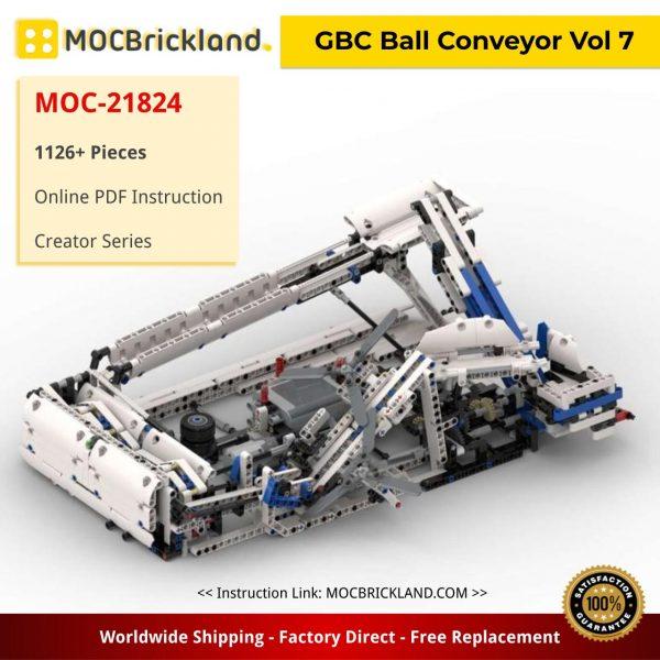 GBC Ball Conveyor Vol 7 Creator MOC-21824 by C3technic With 1126 Pieces