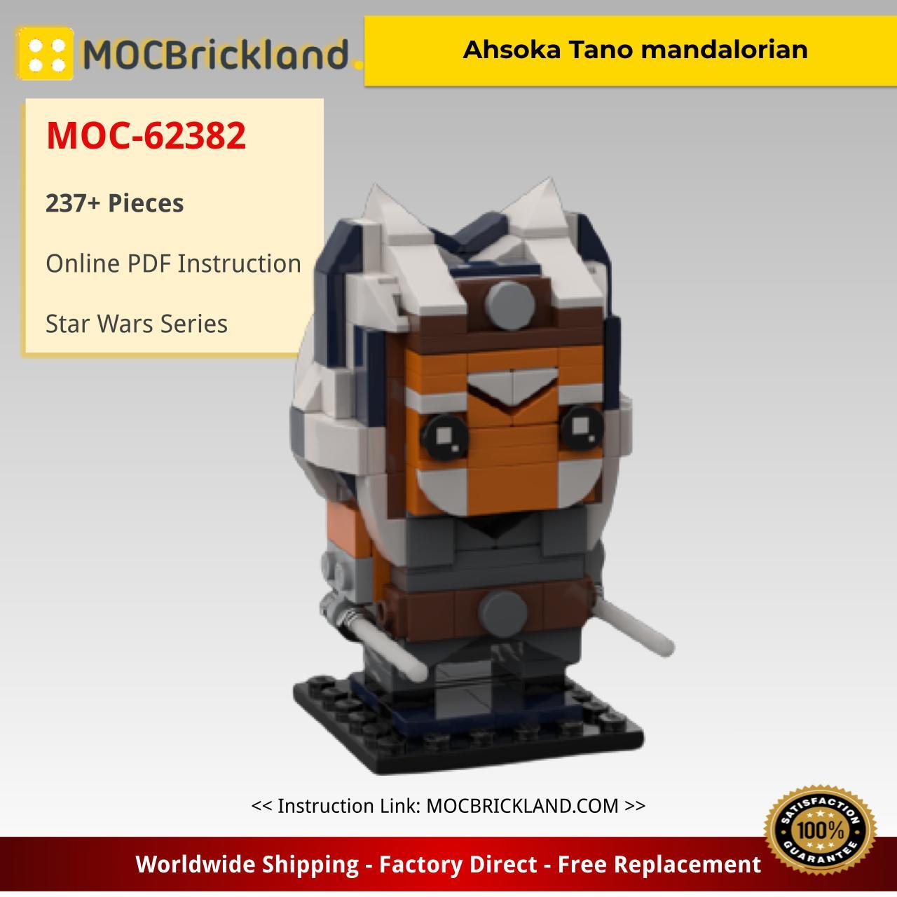Ahsoka Tano mandalorian Star Wars MOC-62382 by mandroid99 with 237 Pieces