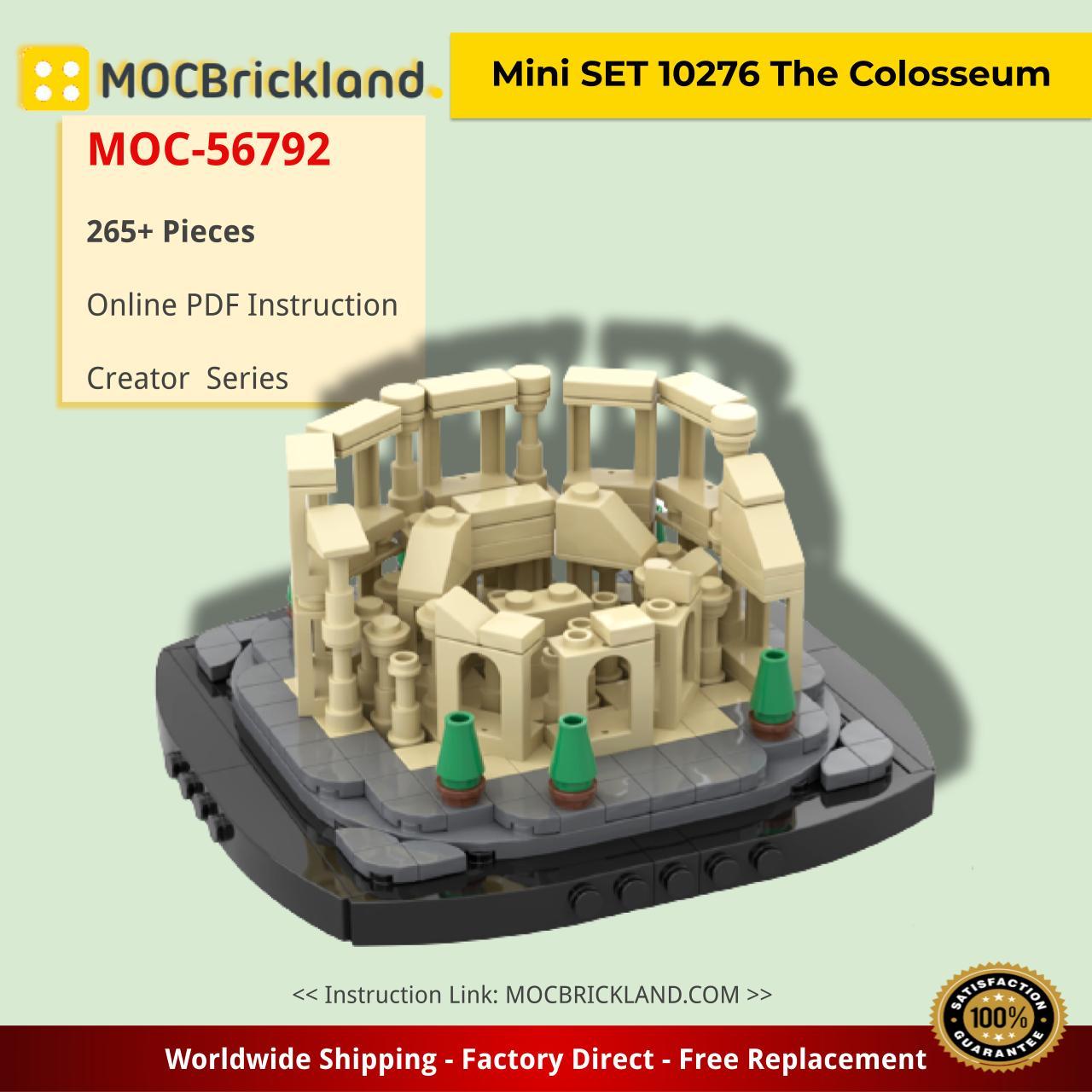 Mini SET 10276 The Colosseum Creator MOC-56792 by gabizon with 265 pieces