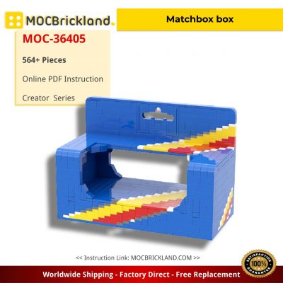 Matchbox box Creator MOC-36405 by RollingBricks with 564 pieces