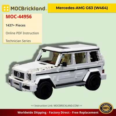 Mercedes-AMG G63 (W464) Technic MOC-44956 by noahl with 1437 pieces