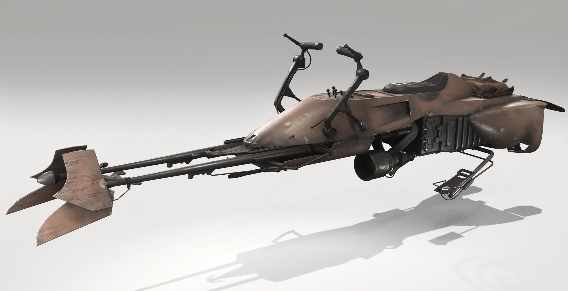 UCS Speeder Bike MOC-39562 Star Wars Designed By Neon5 With 302 Pieces