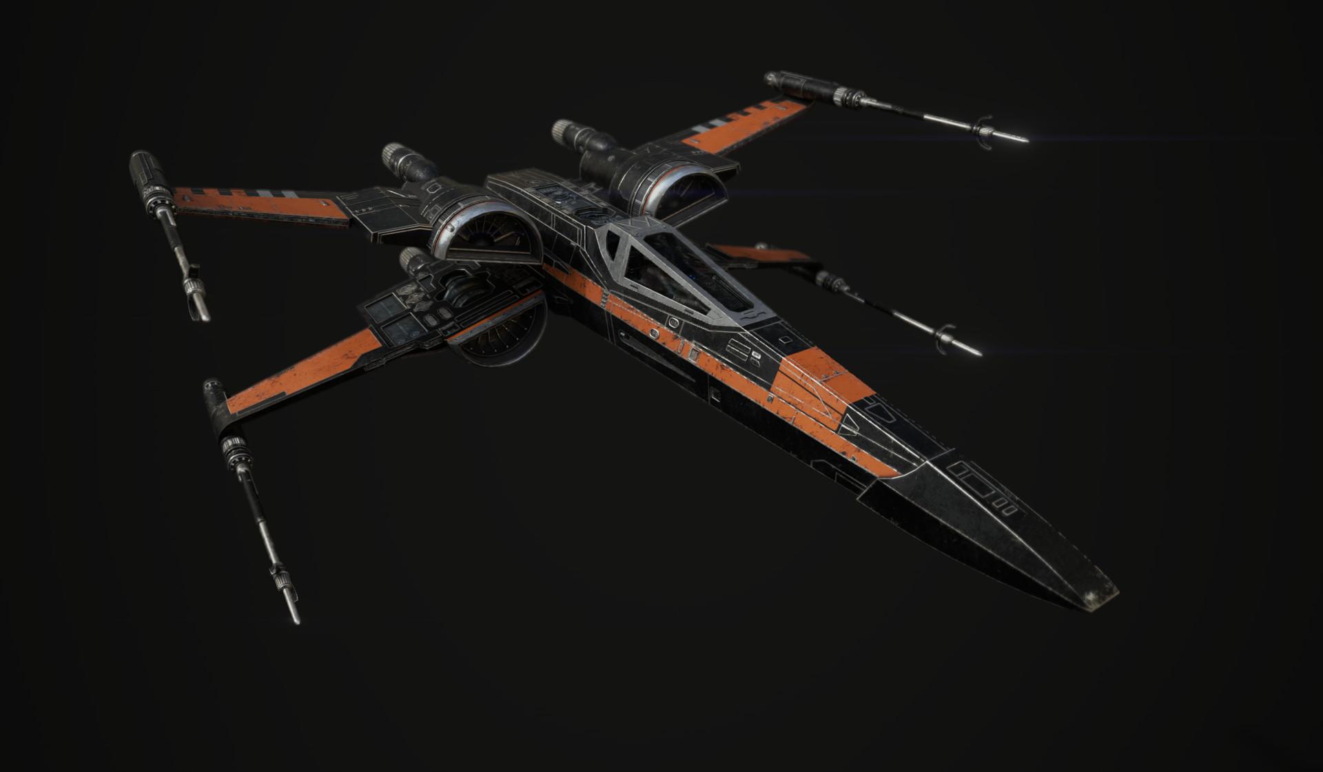 T70 X Wing Poe Dameron