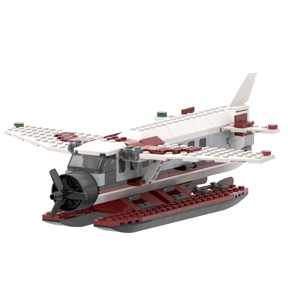 Sea Plane (Cessna Caravan) TECHNICIAN MOC-22067 with 220 pieces