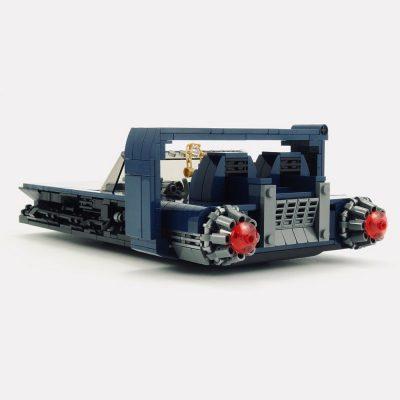 M-68 Landspeeder (Solo Speeder) TECHNICIAN MOC-25659 WITH 853 PIECES