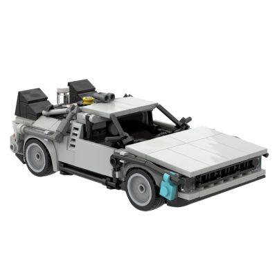 DMC DeLorean Time Machine TECHNICIAN MOC-30085 WITH 366 PIECES