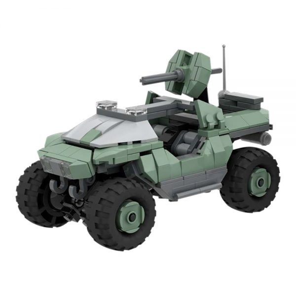 Halo Warthog MILITARY MOC-32633 WITH 350 PIECES