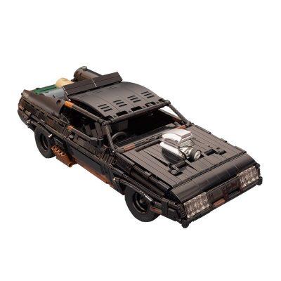 Black Interceptor TECHNICIAN MOC-35846 with 1510 pieces