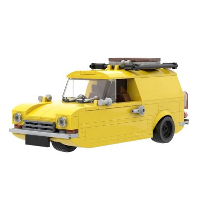 Only Fools and Horses Reliant Regal by OneBrickPony TECHNICIAN MOC-39626 WITH 278 PIECES