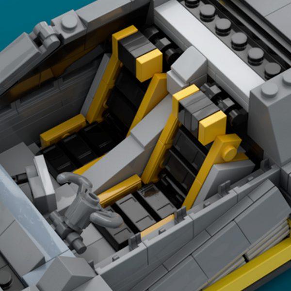 Cyberpunk 2077 Quadra Turbo R TECHNICIAN MOC-50129 WITH 2077 PIECES