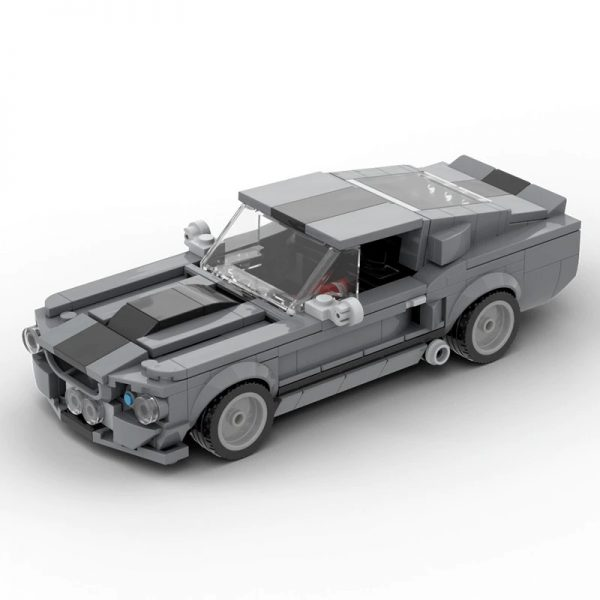 Eleanor Shelby GT500 TECHNICIAN MOC-57356 with 364 pieces