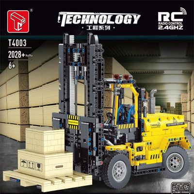 RC Forklift TECHNICIAN TGL T4003 with 2028 pieces