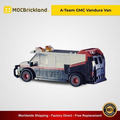 A-Team GMC Vandura Van MOC 11246 Technic Designed By Jerrybuildsbricks With 230 Pieces