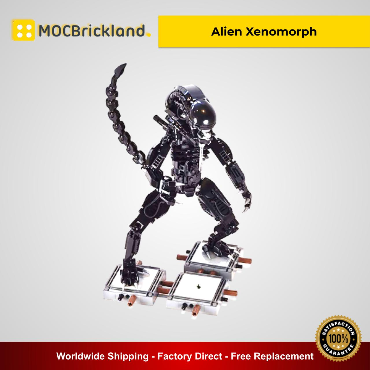 Alien Xenomorph MOC 27578 Movie Designed By Buildbetterbricks With 599 Pieces