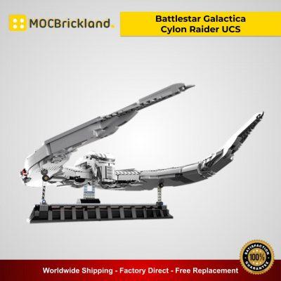 Battlestar Galactica Cylon Raider UCS MOC 12653 Movie Designed By DavDupMOCs With 3253 Pieces