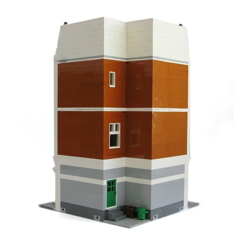 Beloved Belle MOC 10635 Modular Building Designed By Kristel With 3577 Pieces