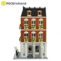 Beloved Belle MOC 10635 Modular Building Designed By Kristel With 3577 Pieces