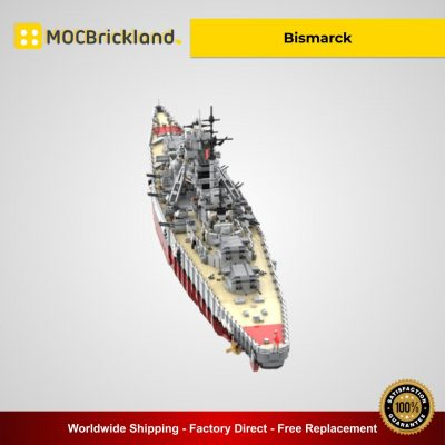 Bismarck MOC 29408 Military Designed By Rad0lf With 7164 Pieces