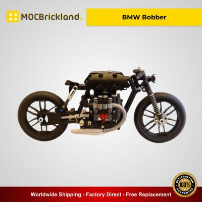BMW Bobber MOC 21468 Technician Designed By MOC NEMOOZ With 358 Pieces