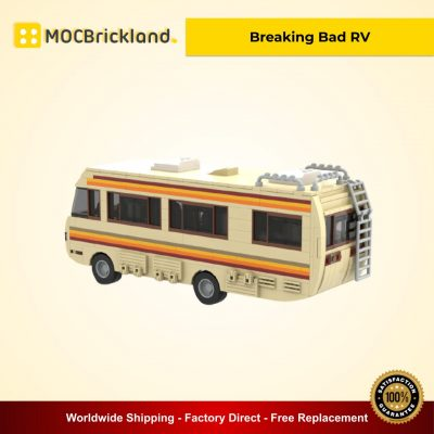 Breaking Bad RV MOC 20606 Movie Designed By Mkibs With 644 Pieces