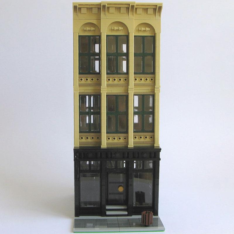 Cast Iron MOC 11389 Modular Building By Kristel Produced by MOC BRICK LAND