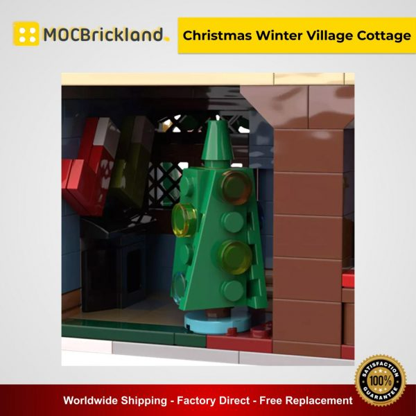 Christmas Winter Village Cottage MOC 32797 Creator Designed By Klaartje68 With 594 Pieces