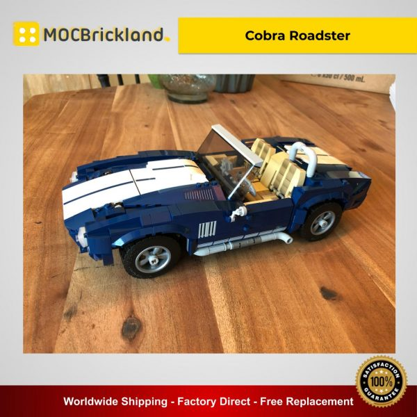 Cobra Roadster MOC 43043 Technic Alternative LEGO 10265 Designed By NKubate With 1016 Pieces