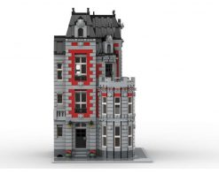 Corner Mansion MOC 35065 Modular Building Designed By Jhobbs With 4007 Pieces