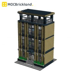 Corporate Headquarters MOC 12094 Modular Building By Kristel Produced by MOC BRICK LAND