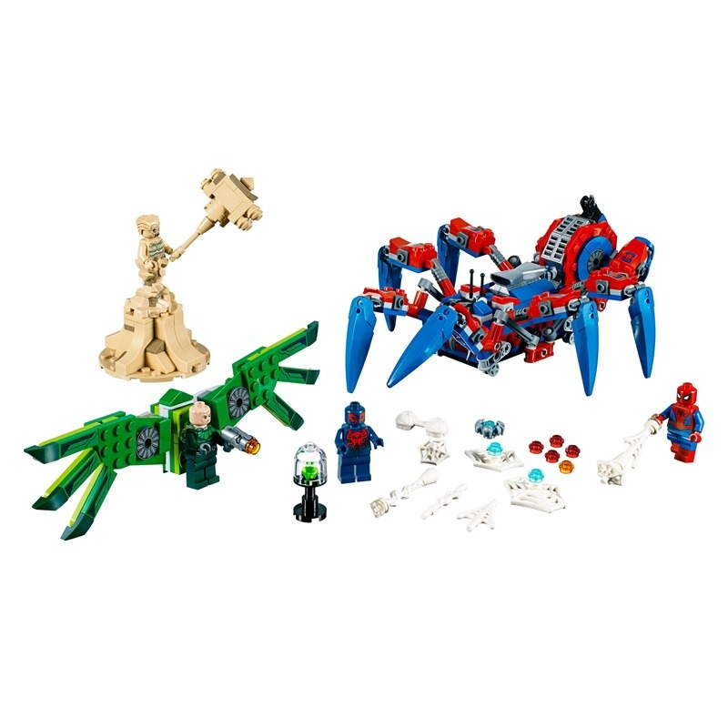 DECOOL 7136 Spider-Man's Spider Crawler Compatible with 76114