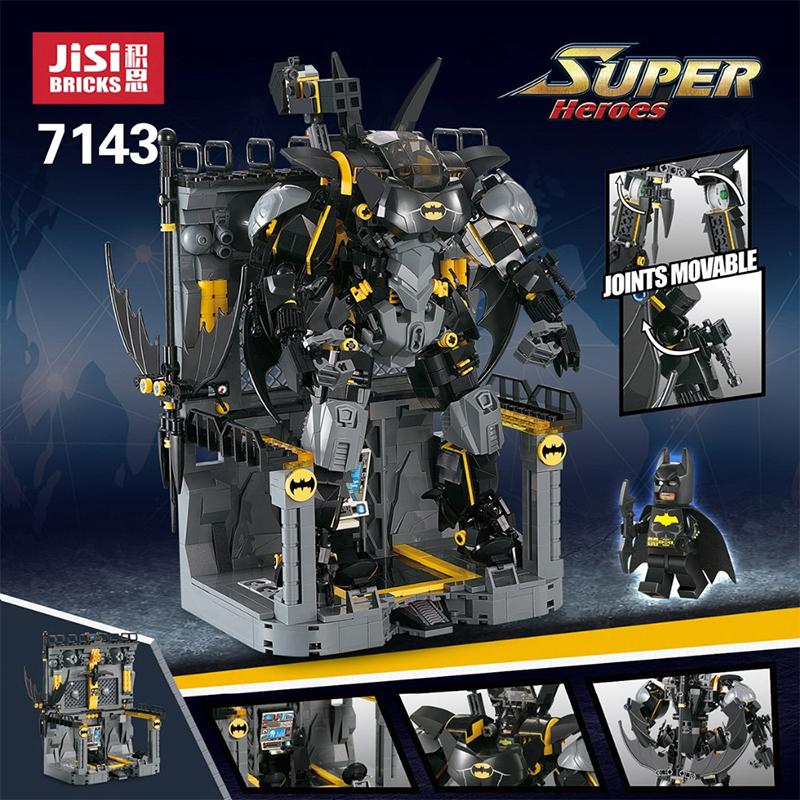 DECOOL 7143 Super Heroes Bat Mech