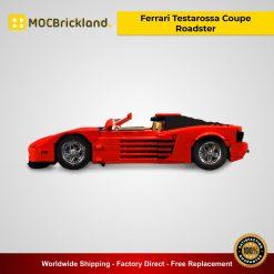 Ferrari Testarossa Coupe Roadster MOC 24335 Technic Designed By Firas_legocars